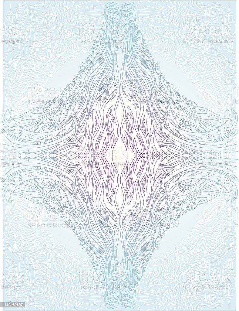 inside an atom royalty-free stock vector art