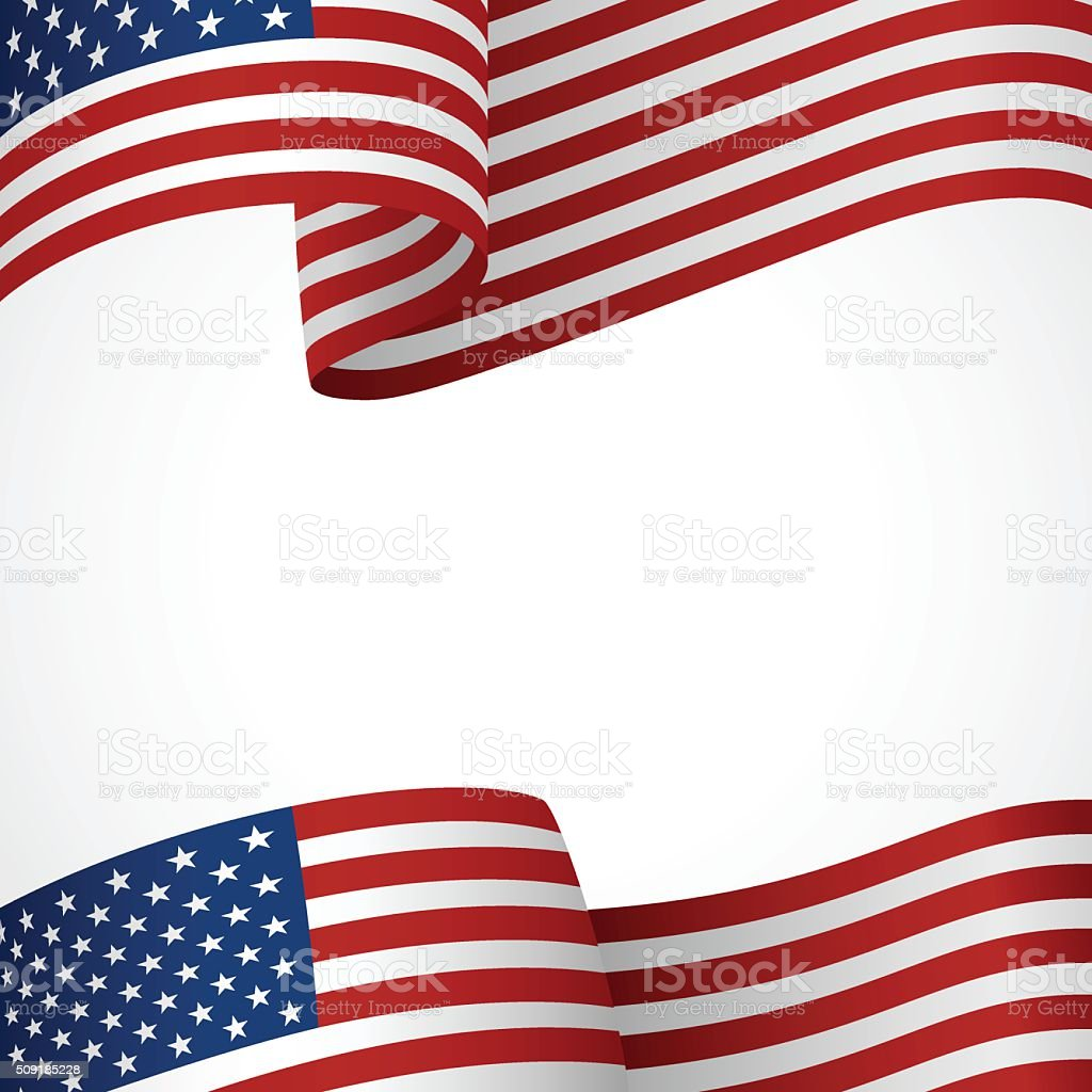 USA Insignia vector art illustration