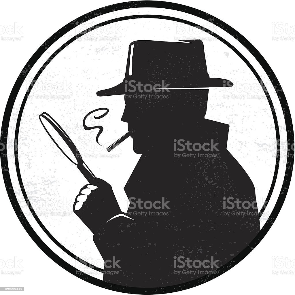 Inspector royalty-free stock vector art