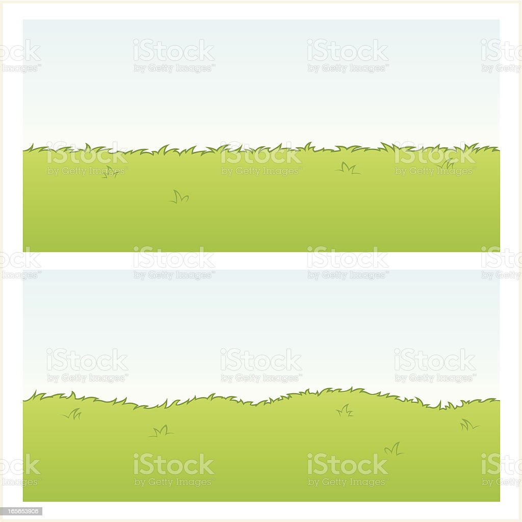 Instant Grass! royalty-free stock vector art