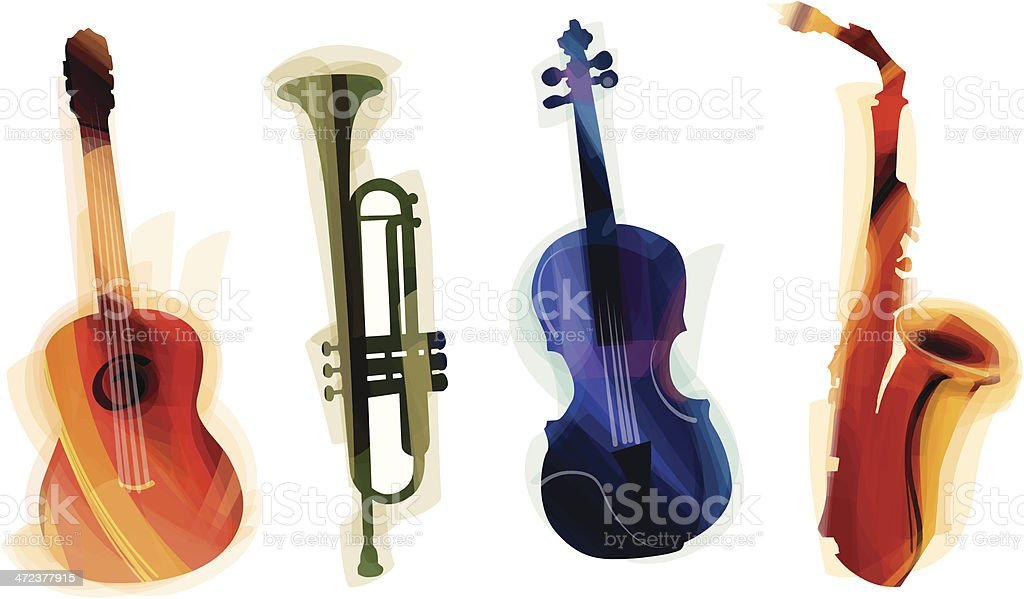 Instruments royalty-free stock vector art