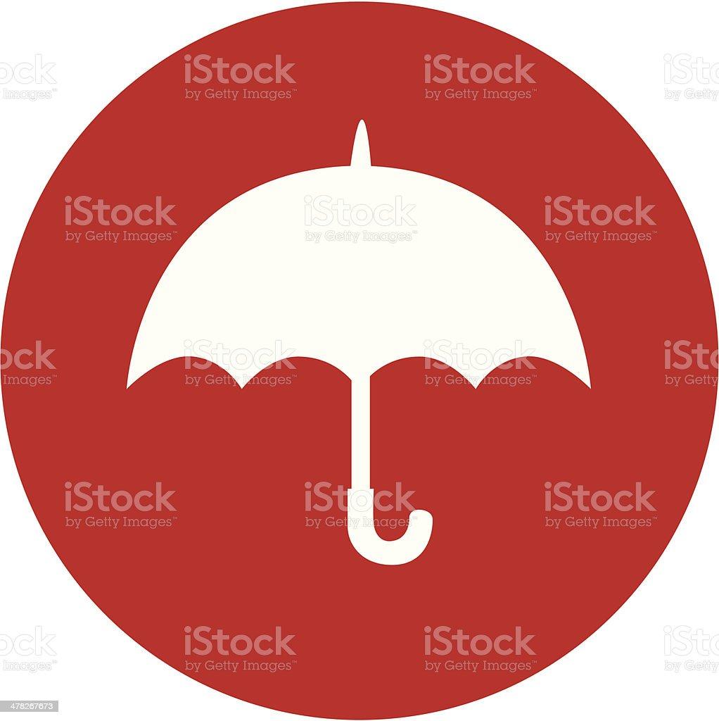 insurance icon vector art illustration