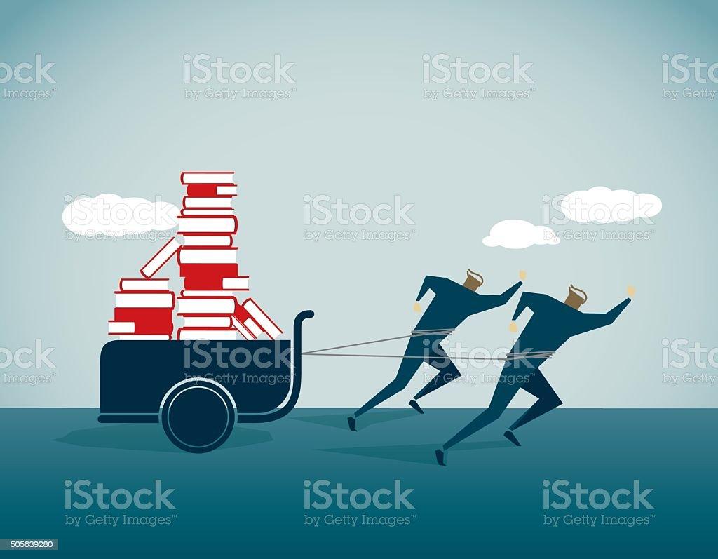 Intellectual property vector art illustration
