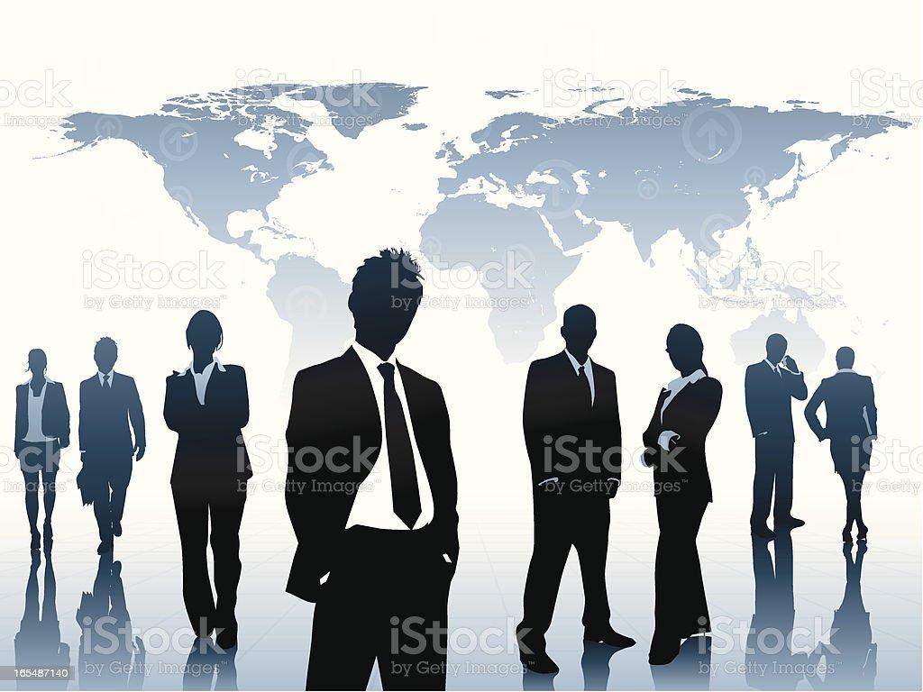 Interactive Organization Part II royalty-free stock vector art