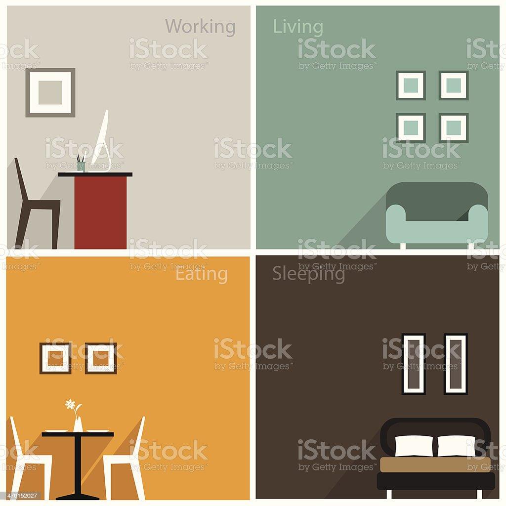 interior design clip art vector images amp illustrations