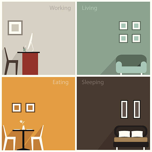 Interior design clip art vector images illustrations for Interior design images vector