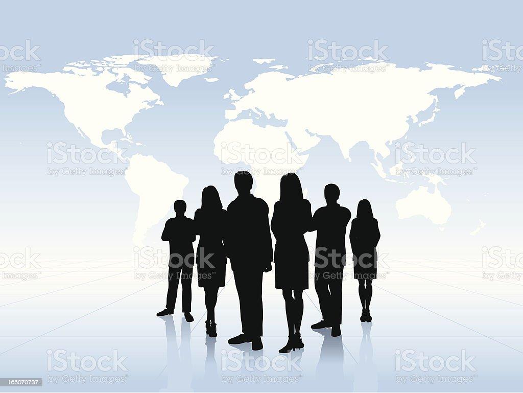 International Business royalty-free stock vector art