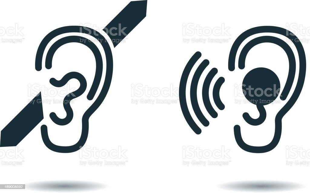 International Day of the Deaf vector art illustration