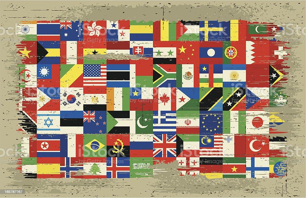 international flag royalty-free stock vector art