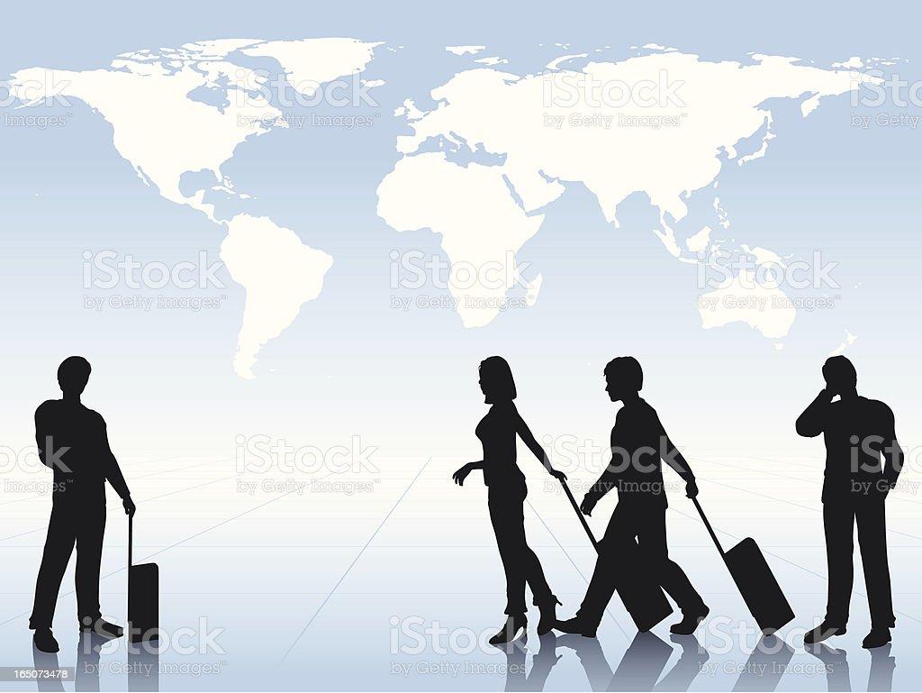 International Travel royalty-free stock vector art