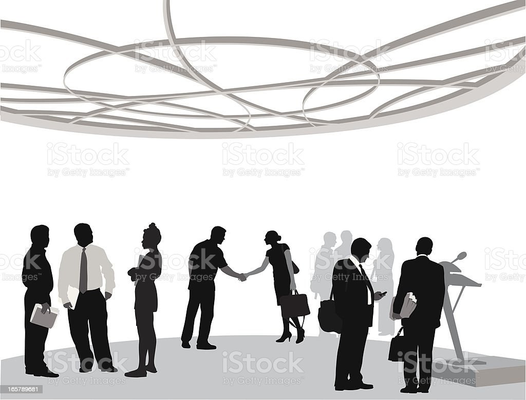 International Vector Silhouette vector art illustration