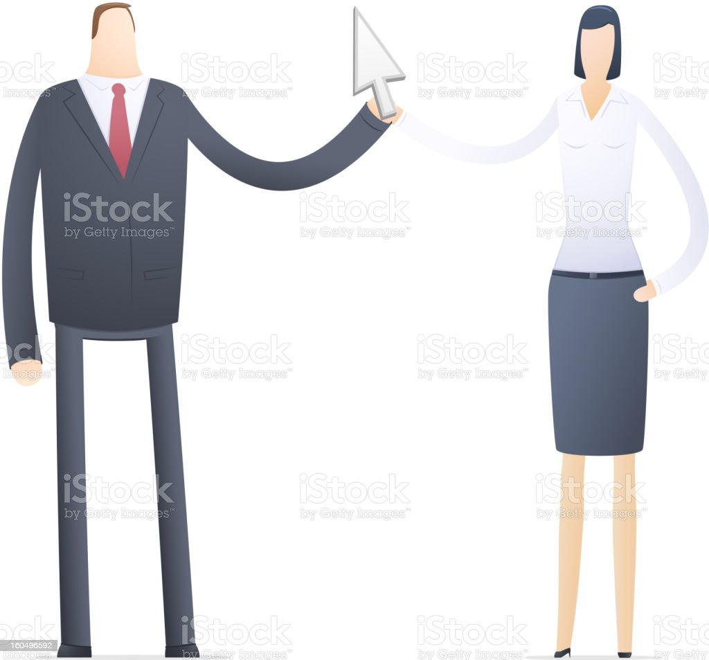 Internet transfer control over the project royalty-free stock vector art
