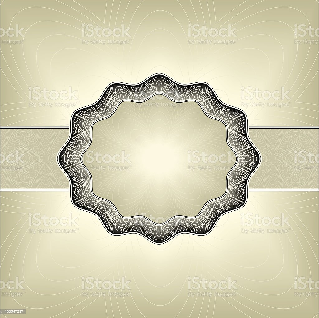 intricate frame royalty-free stock vector art