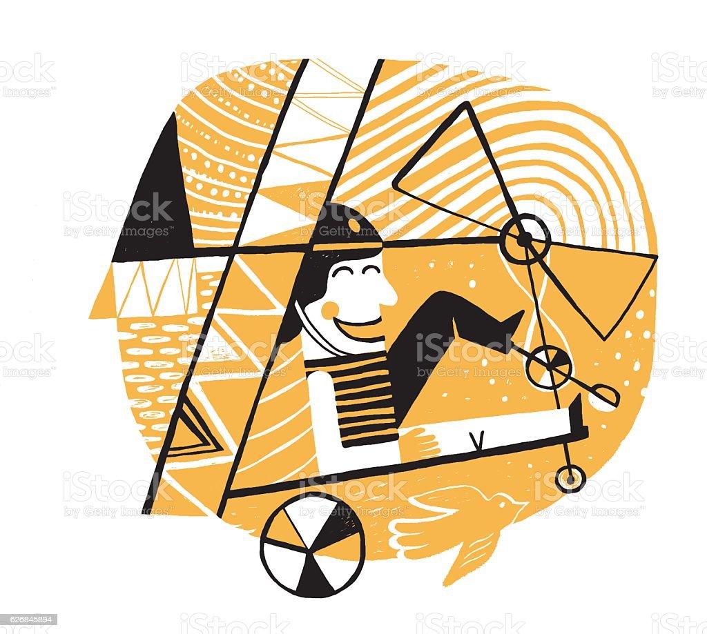 Invention vector art illustration