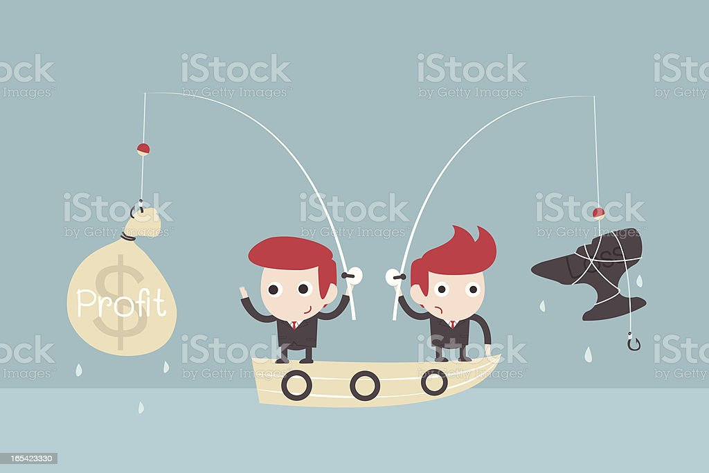 investment concept royalty-free stock vector art