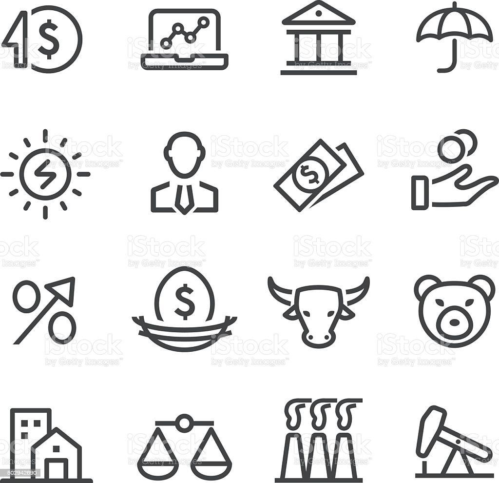 Investment Icon - Line Series vector art illustration
