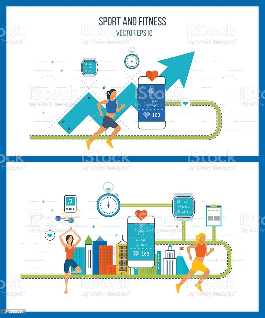 Investment in education. Financial strategy and report. Business development. vector art illustration