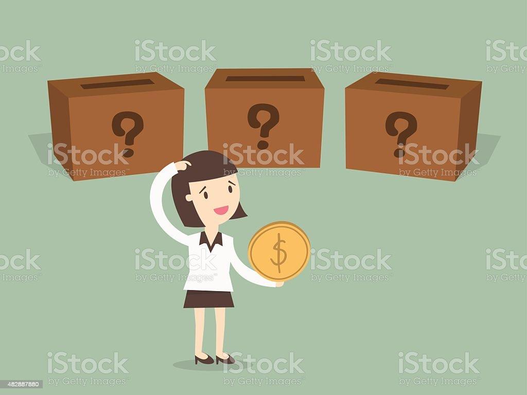 Investment vector art illustration