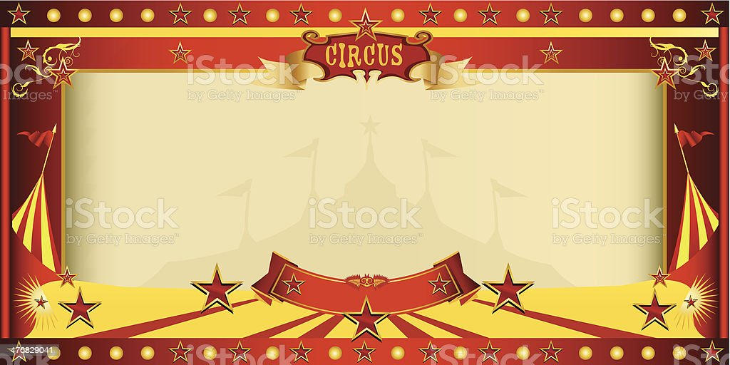 invitation big top circus royalty-free stock vector art