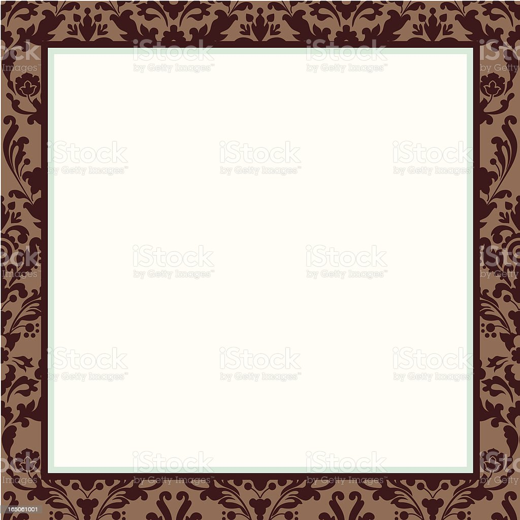 invitation border royalty-free stock vector art