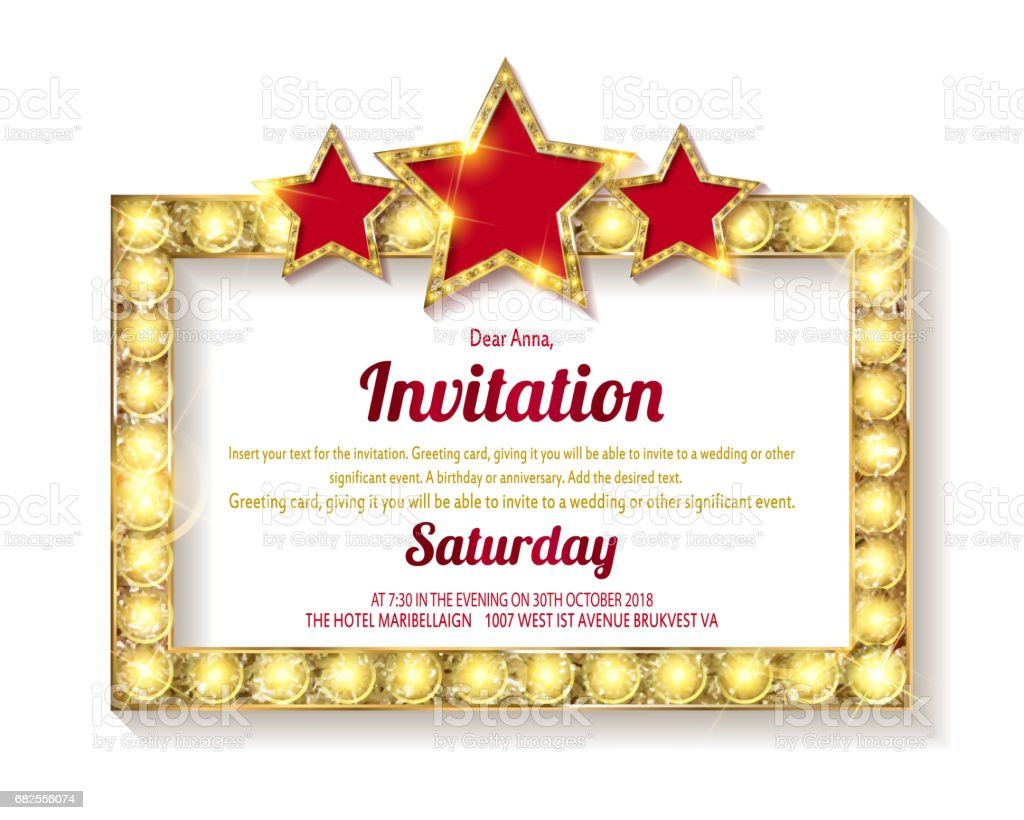 invitation card template banners のイラスト素材 682556074 istock