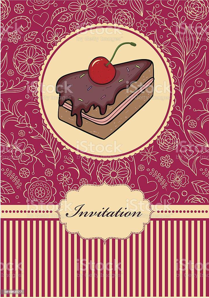 invitation card royalty-free stock vector art