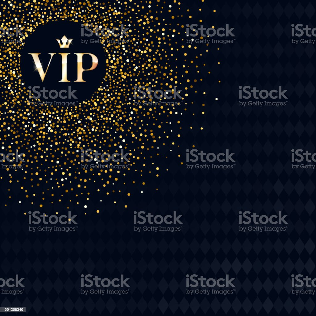 VIP invitation premium design background template vector art illustration