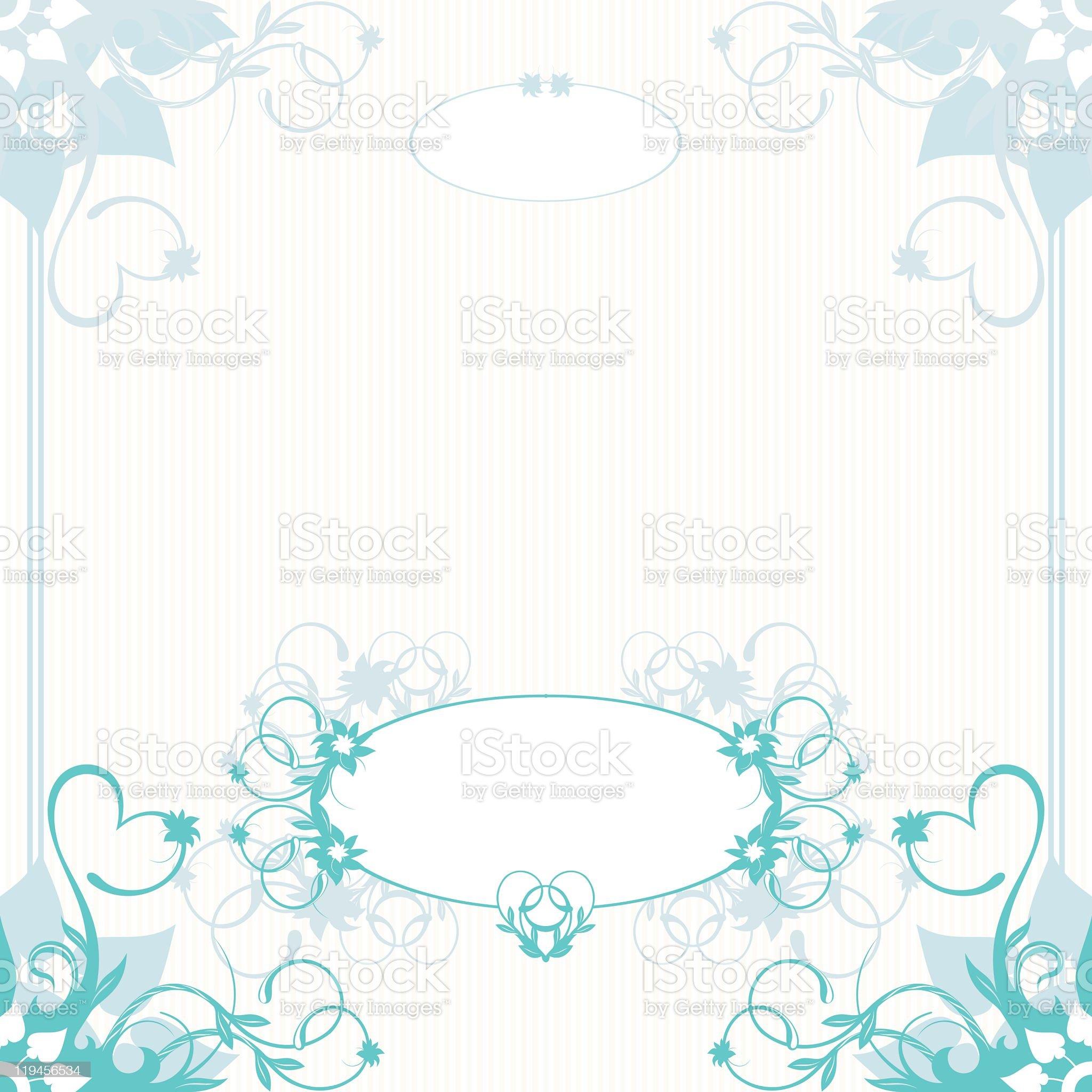 Invitation to the wedding royalty-free stock vector art