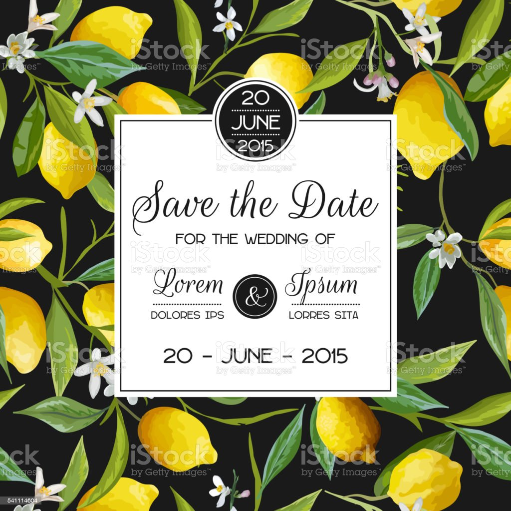 Invitation/Congratulation Card - for Wedding, Baby Shower vector art illustration