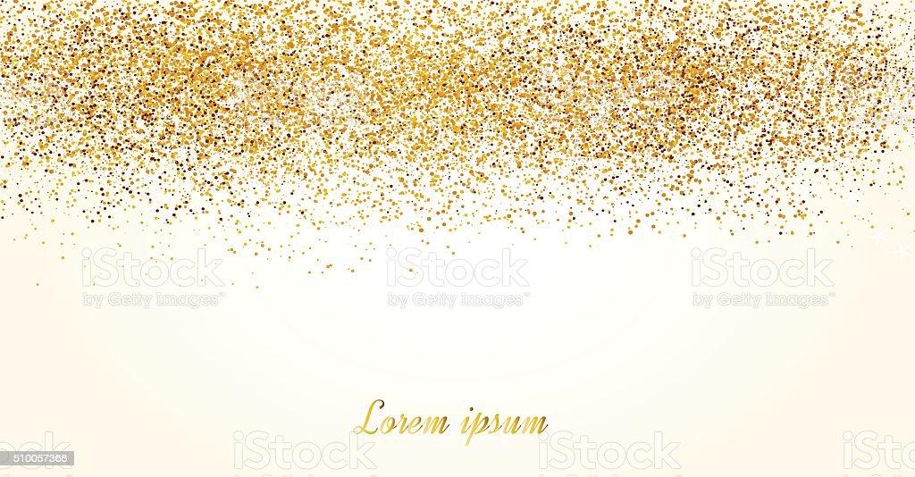 Convites com glitter dourado textura. vetor e ilustração royalty-free royalty-free