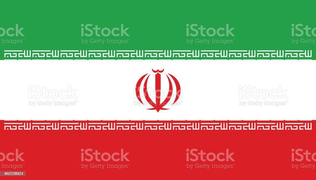 Iran vector art illustration