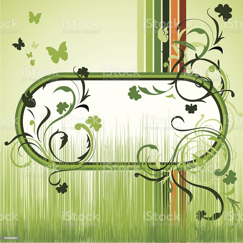 Irish banner royalty-free stock vector art