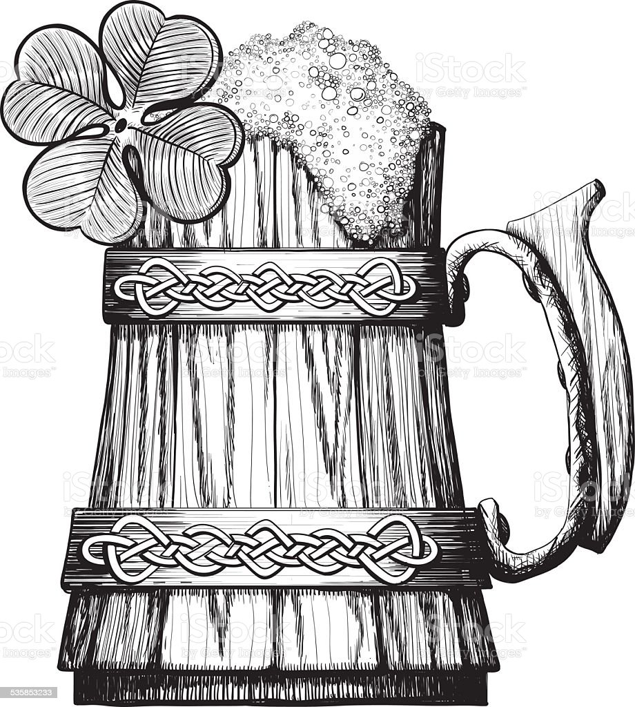 Irish Beer Mug Clip Art – Cliparts