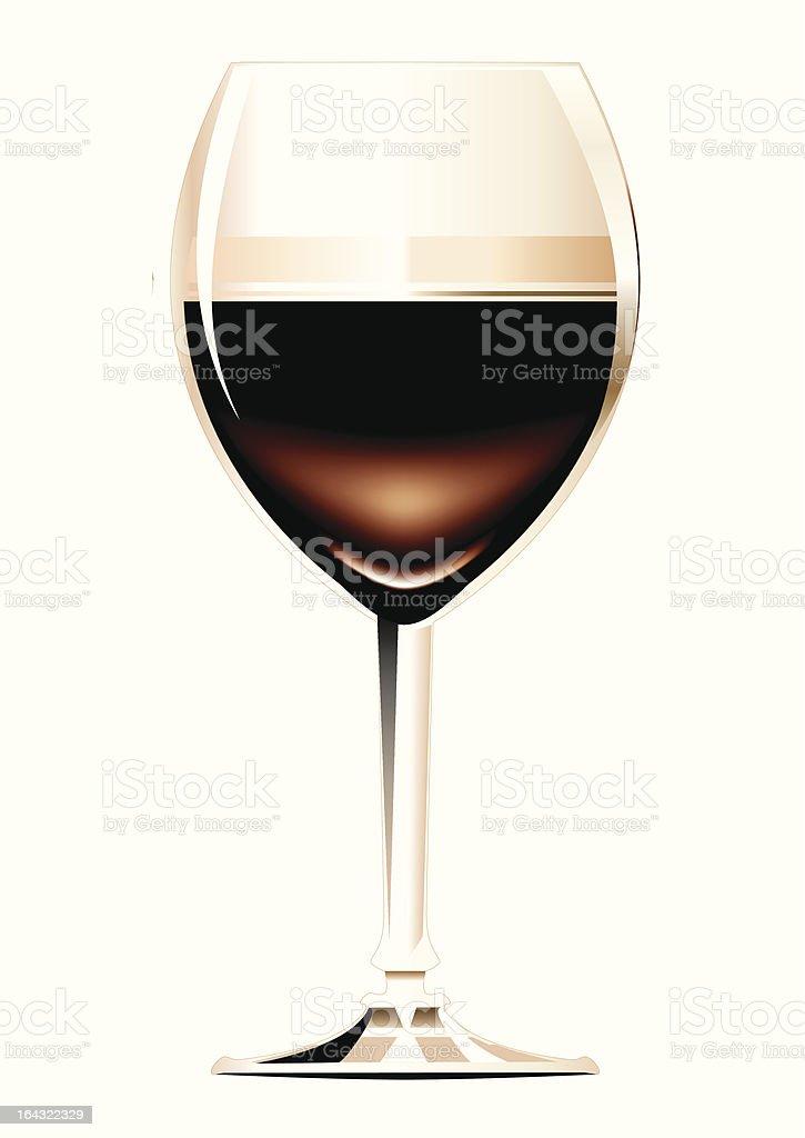 Irish Coffee or Cappuccino vector art illustration