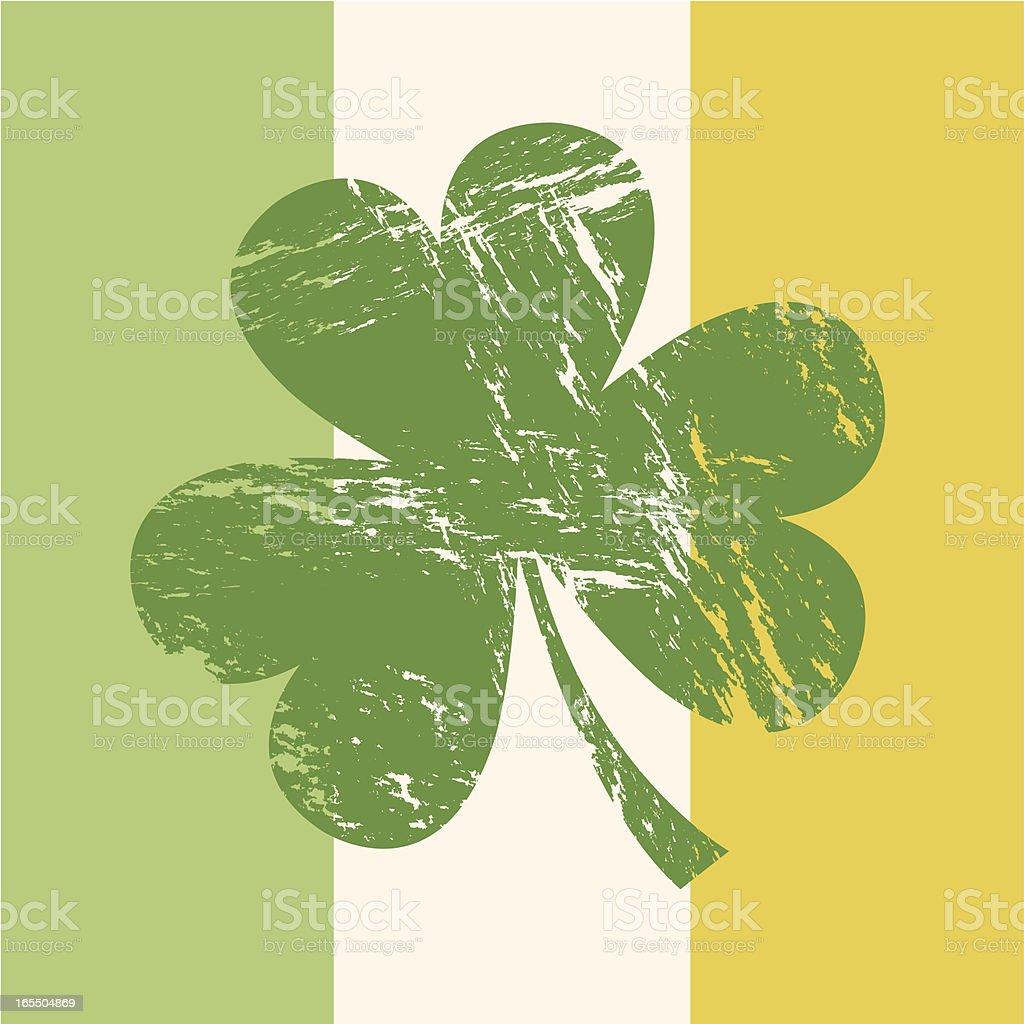 Irish Flag royalty-free stock vector art