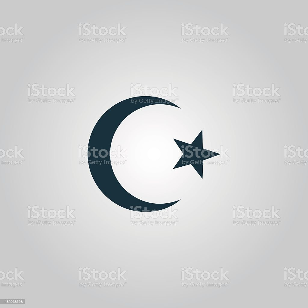 Islam symbol vector art illustration