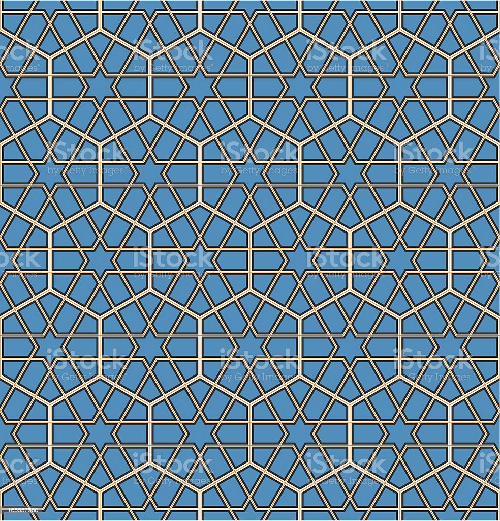Islamic pattern royalty-free stock vector art