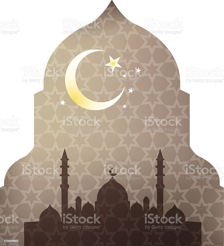 Islamic Ramandan design vector art illustration