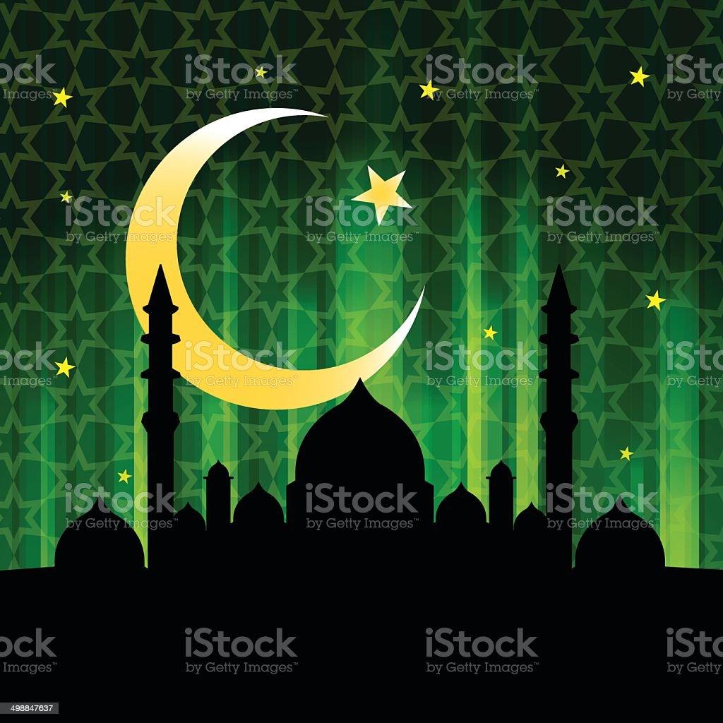 Islamic Ramandan design royalty-free stock vector art