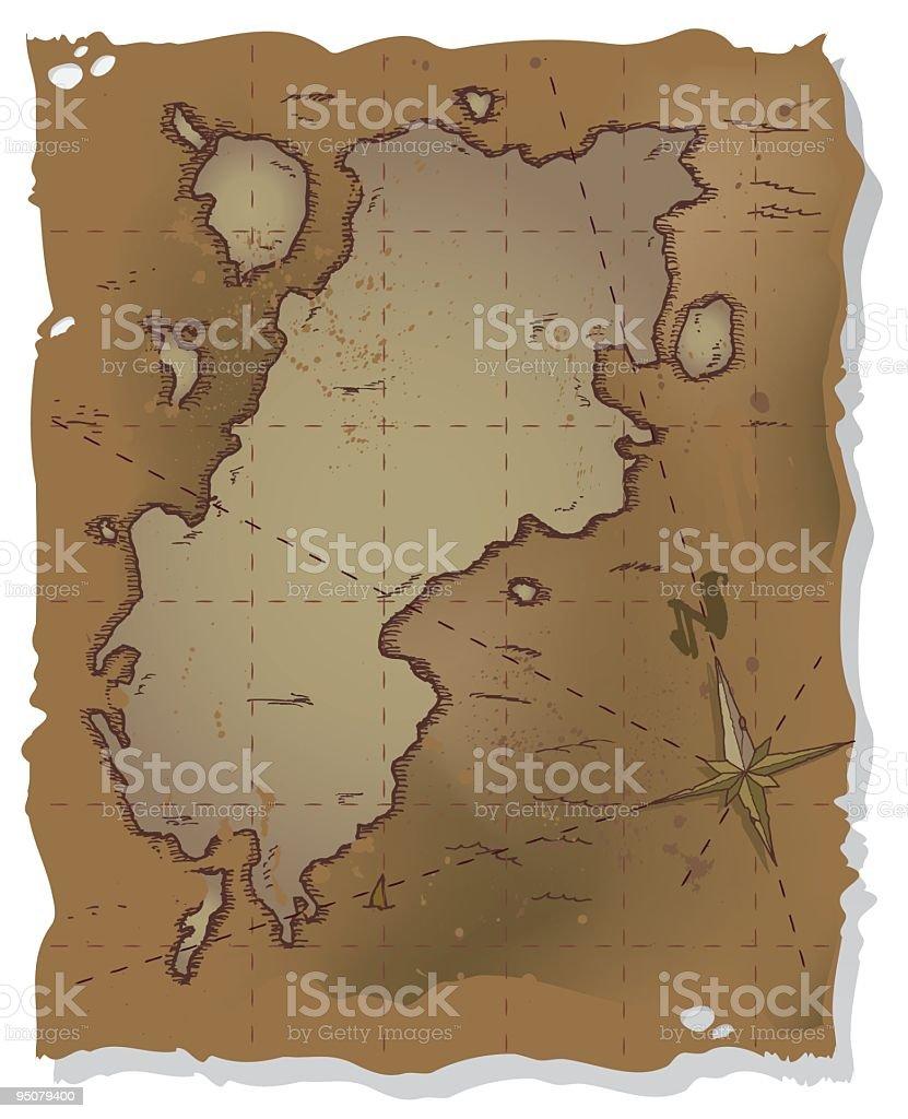 island map royalty-free stock vector art
