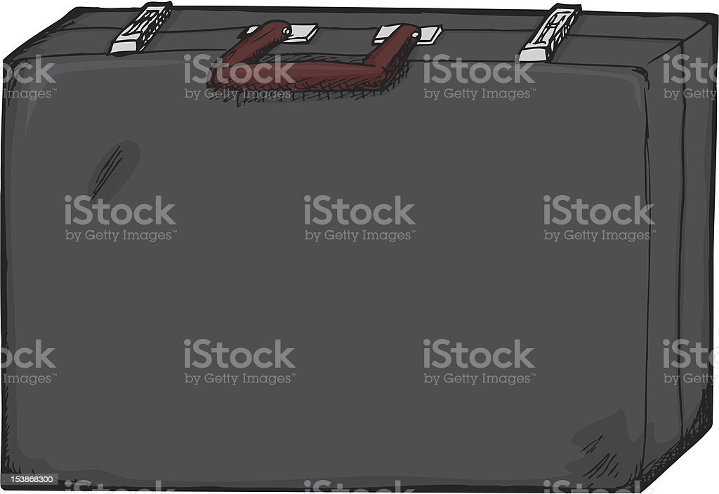 Isolated Briefcase royalty-free stock vector art