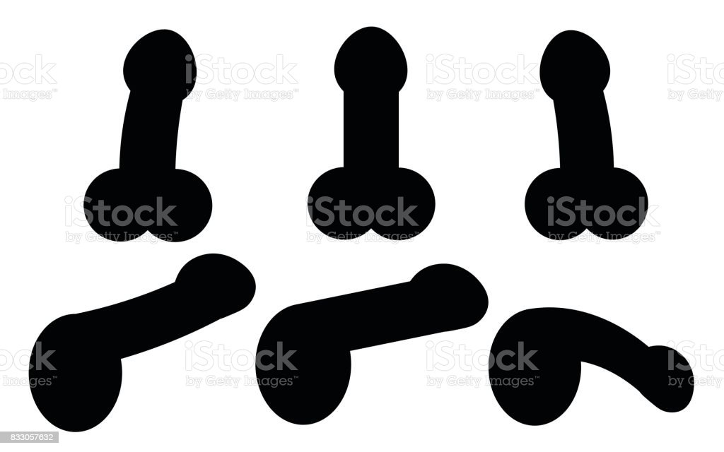 cock and balls clip art image