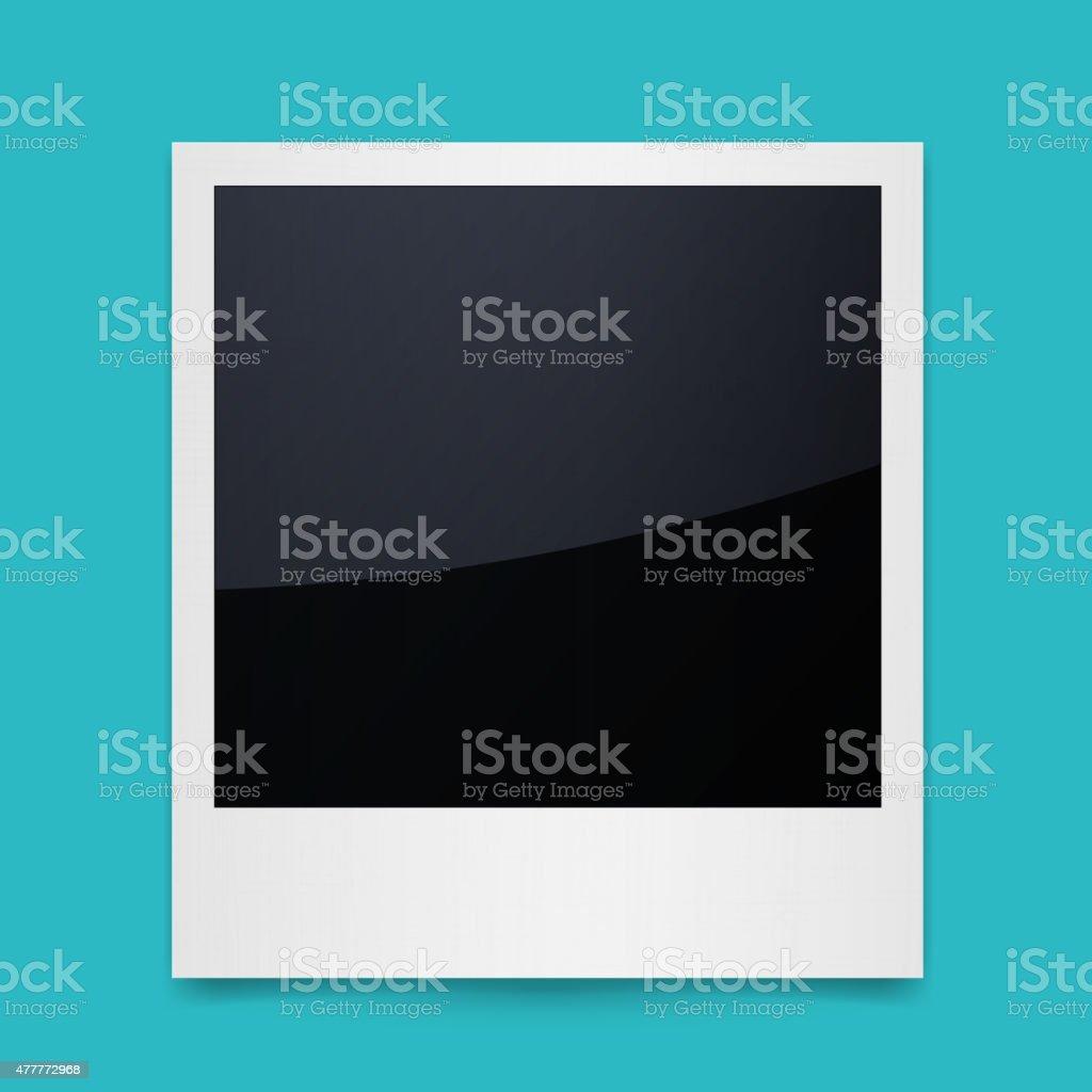 Isolated Photo Frames vector art illustration