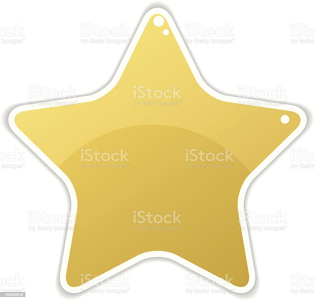 Isolated Series -  Star royalty-free stock vector art