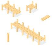 Isometric Footbridge.