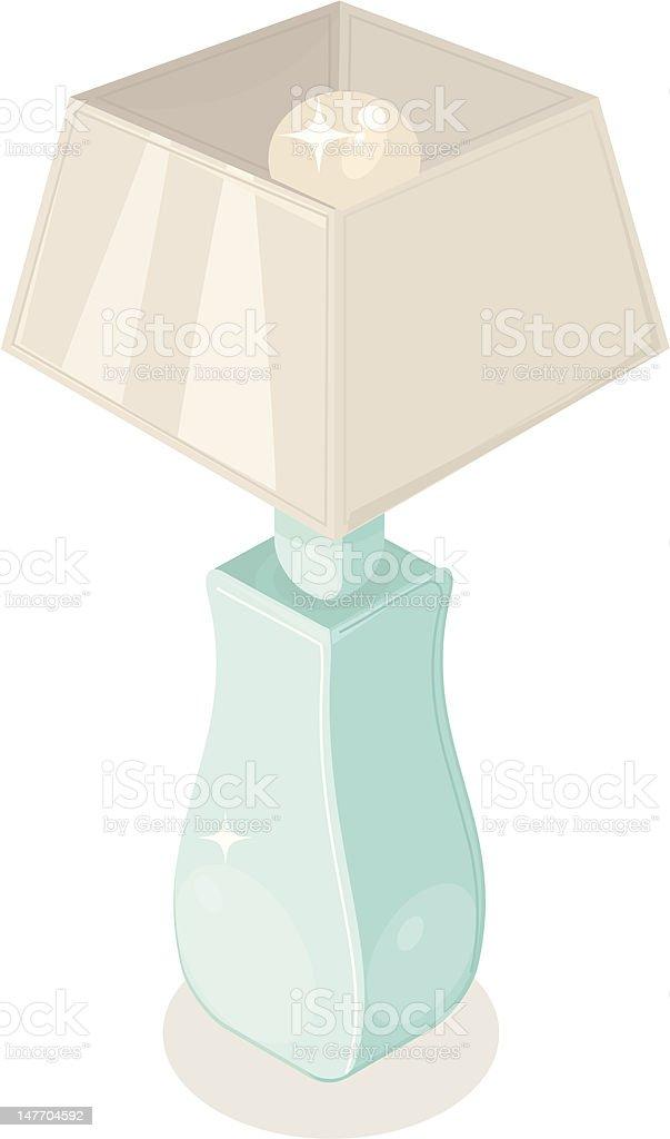 Isométricos de la lámpara illustracion libre de derechos libre de derechos