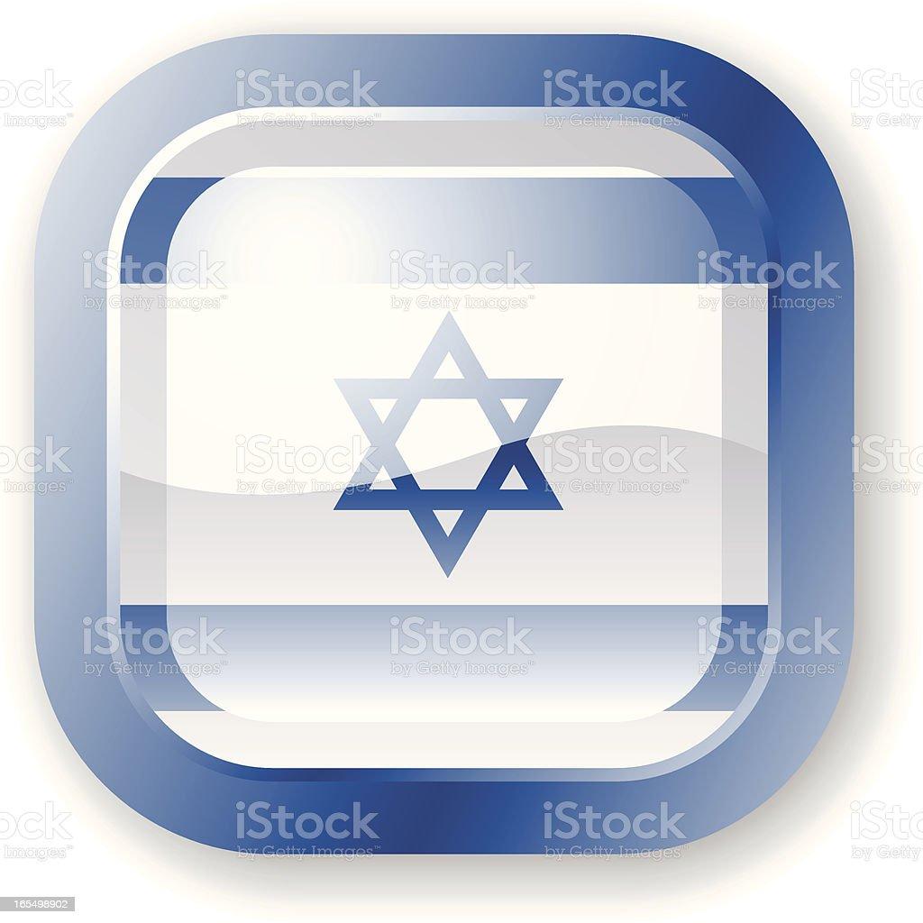 Israel Flag Icon royalty-free stock vector art