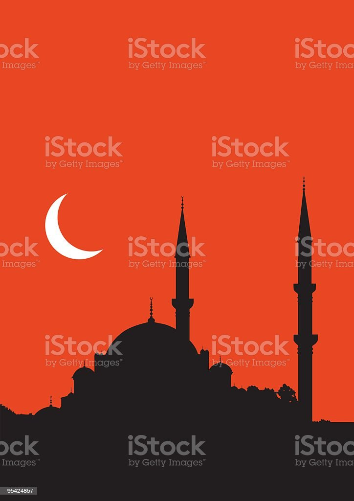istanbul silhouette royalty-free stock vector art