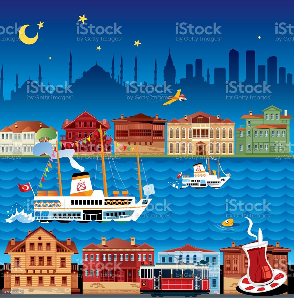 istanbul royalty-free stock vector art