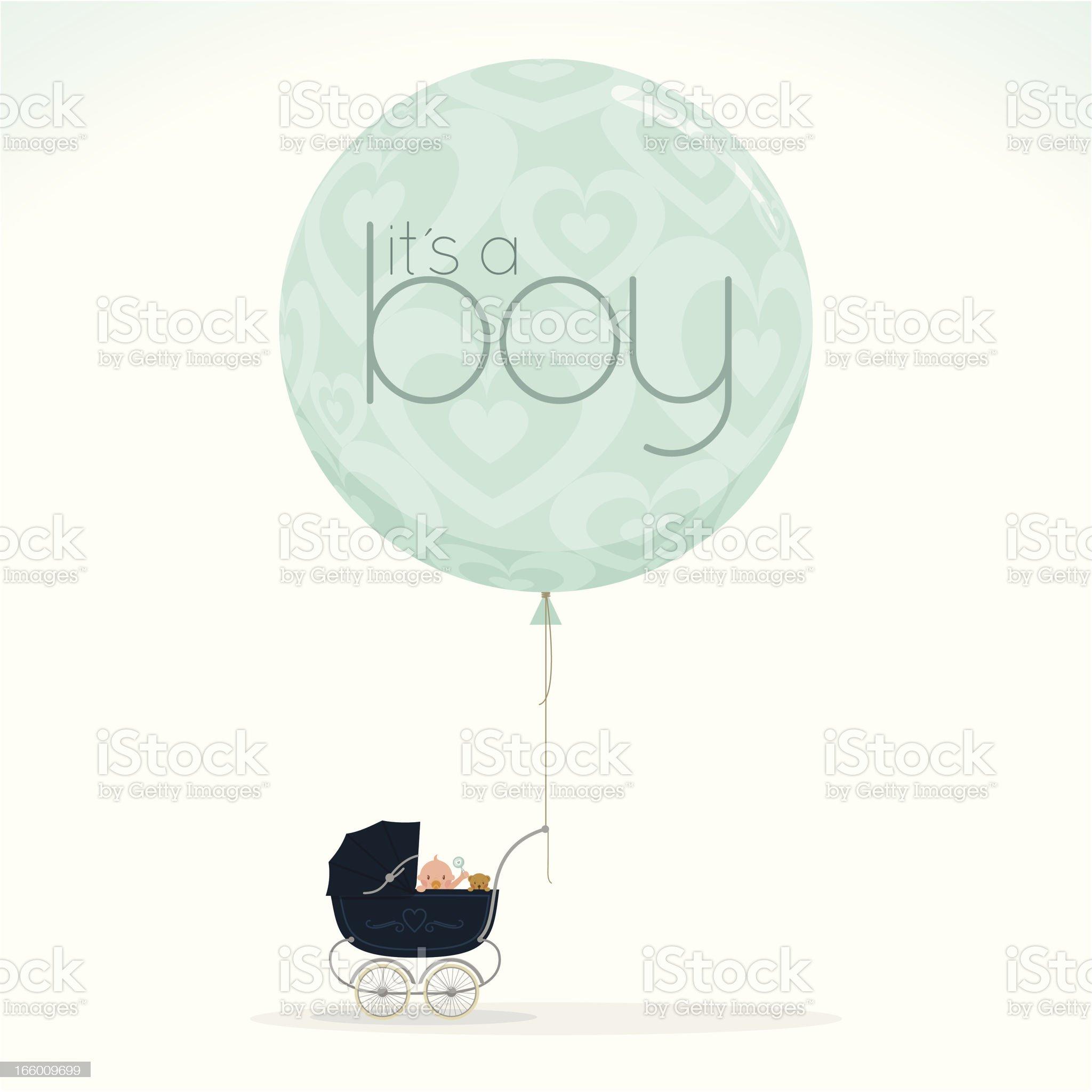 it is a boy myillo royalty-free stock vector art